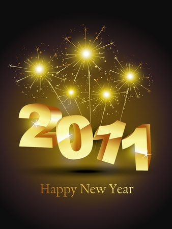 golden color: vector new year stylish golden color design