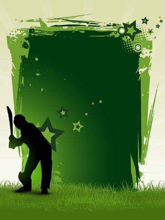cricket: sfondo di Grillo con spazio per il vostro testo Vettoriali