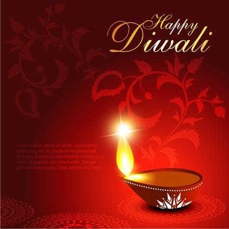 lampada: diwali artistico del festival Diya progettazione