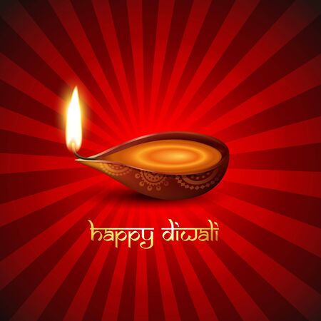 diwali festival background Vector