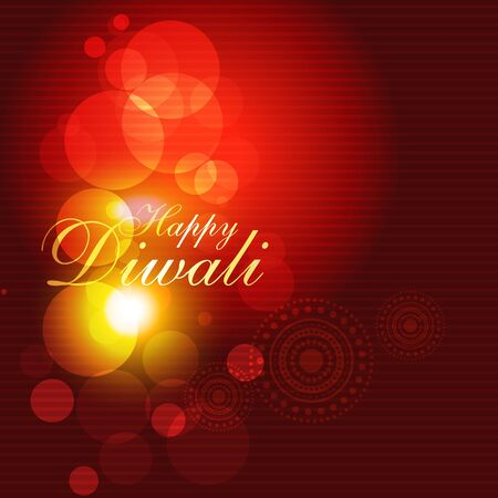 stylish shiny diwali festival background Vector