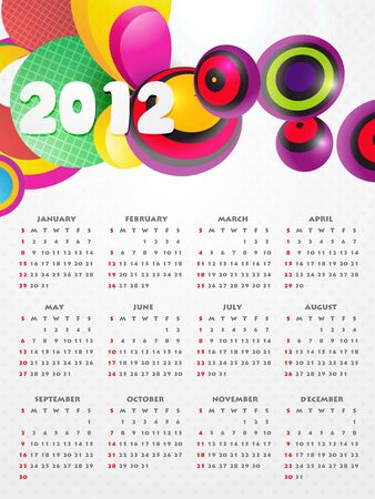 funky new year colorful background Vector