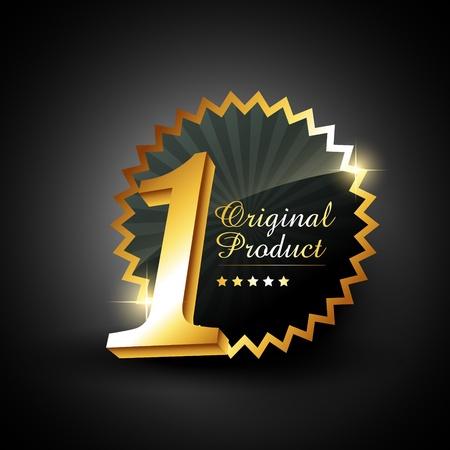 beste qaulity originele product promotie vector label