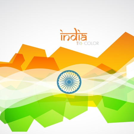 republic day: creative indian flag design