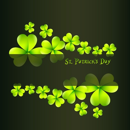 beautiful saint patricks day illustration with space for your text Stock Vector - 12497527