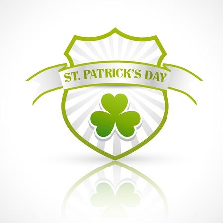 patricks day: etiqueta de D�a de San Patricio