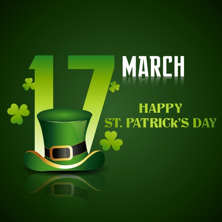 beautiful st patrick's day illustration Stock Vector - 12497455