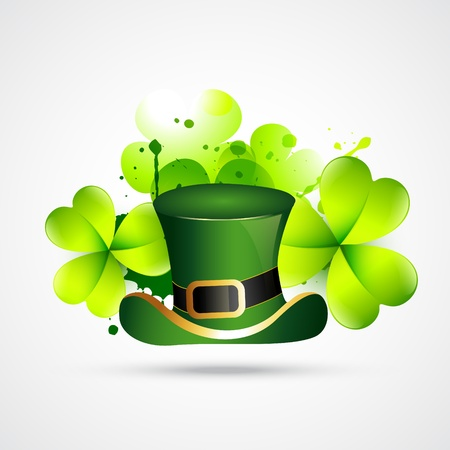 abstract style st. patrick's day illustration Stock Vector - 12497439