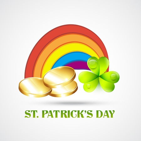 saint patrick's day illustration Stock Vector - 12497444
