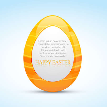 easter design with space for your text Vector