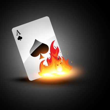 ace: ace burning card