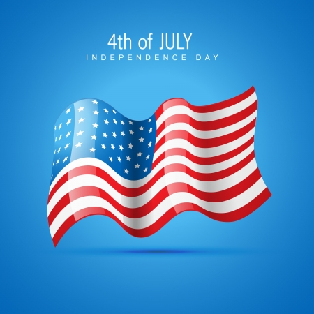 american independence day 4th of july Stock Vector - 14231633