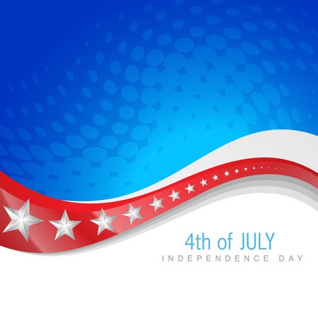republic day: 4th of july independence day design art