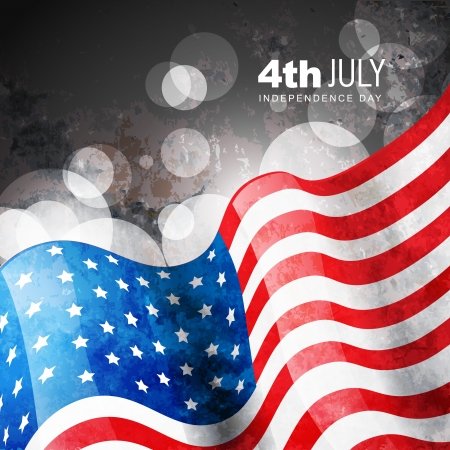 american election: amercian independence day vector flag