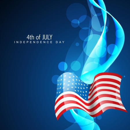 american independence day 4th of july Vector