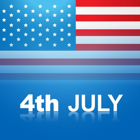 4th july american independence day Stock Vector - 14231614
