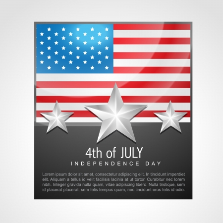 american independence day 4th of july Stock Vector - 14231944