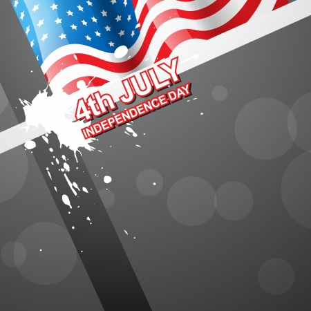 4th of july independence day design art Stock Vector - 14231636