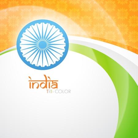 creative indian flag vector design