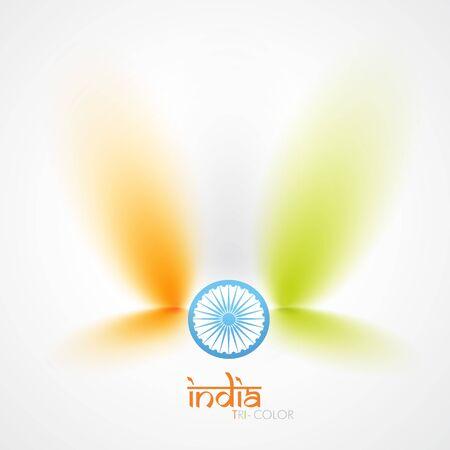 vector indian flag design art Vector