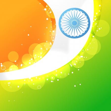 creative indian flag vector design Vector