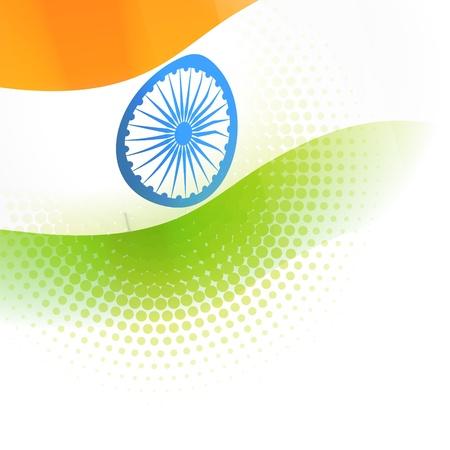 national cultures: indian flag vector background design