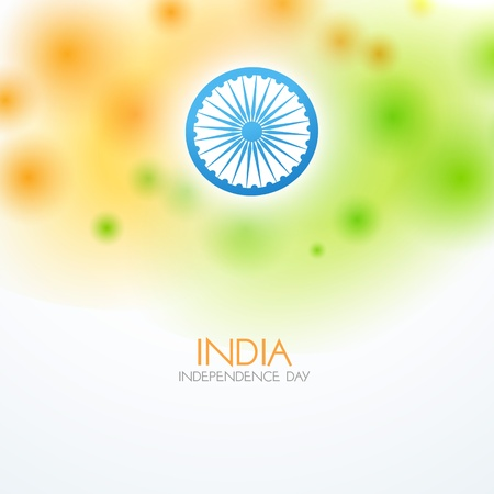 bharat: stylish indian vector flag design art