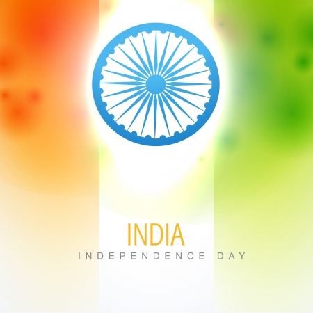 culture day: beautiful indian vector flag design art