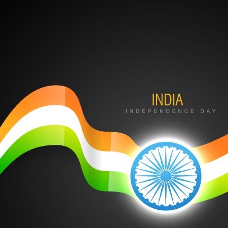 stylish indian vector flag design art Vector
