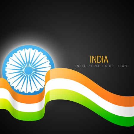 stylish indian vector flag design art Vector