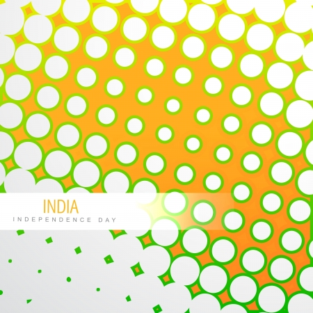 stylish tri color indian vector background Vector