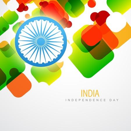 creative indian flag vector design art Vector