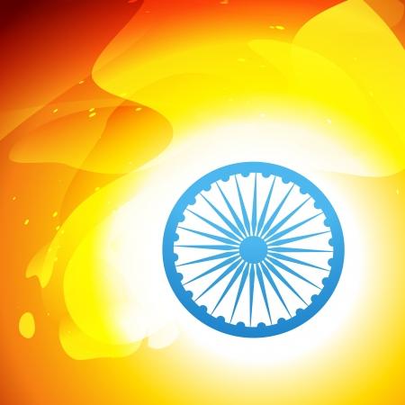 indian tricolor: indian flag vector design art