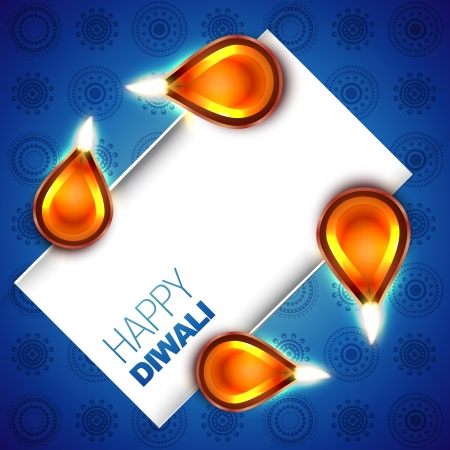 beautiful diwali vector backgorund with space for your text Stock Vector - 15656209