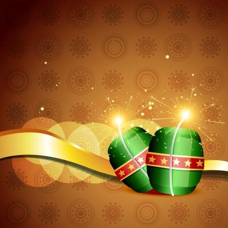 cracker: diwali cracker bomb on background