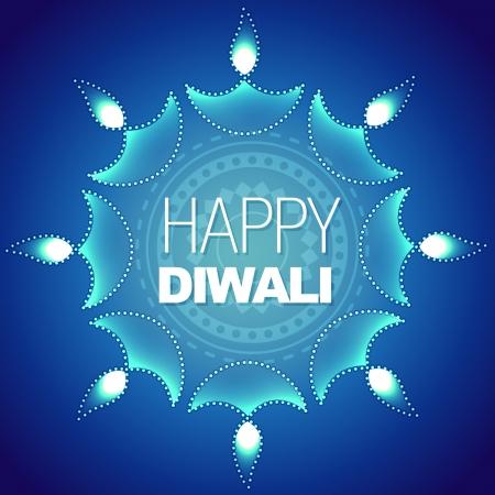 stylish happy diwali vector background Stock Vector - 15656309