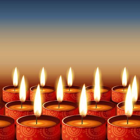 deepawali: beautiful happy diwali background
