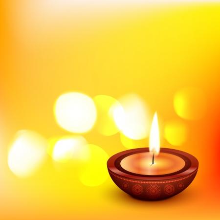 beautiful diwali  Stock Vector - 15655979