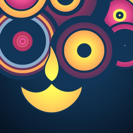 stylish happy diwali background Stock Vector - 15655659