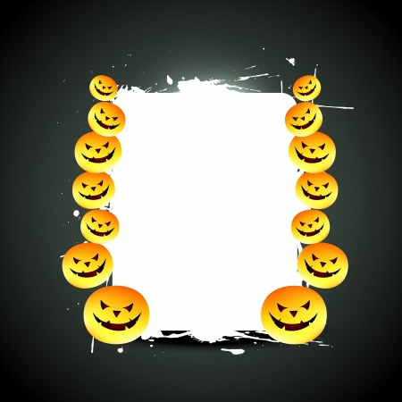 halloween design with space for your text Vector