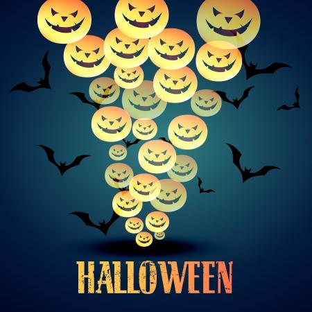 vector happy halloween design illustration Stock Vector - 15782388