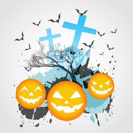 abstract halloween vector design art Stock Vector - 15782387