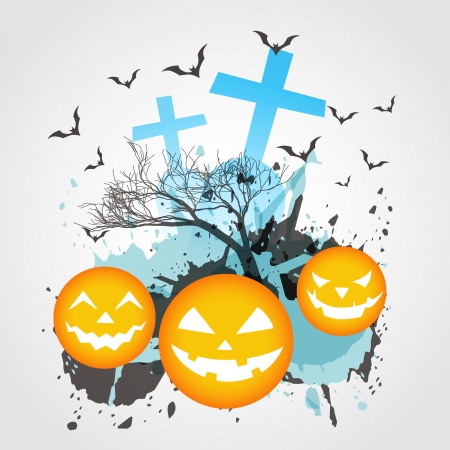 abstract halloween vector design art Stock Vector - 15782387