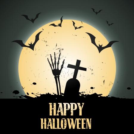 halloween dise�o ilustraci�n vectorial arte