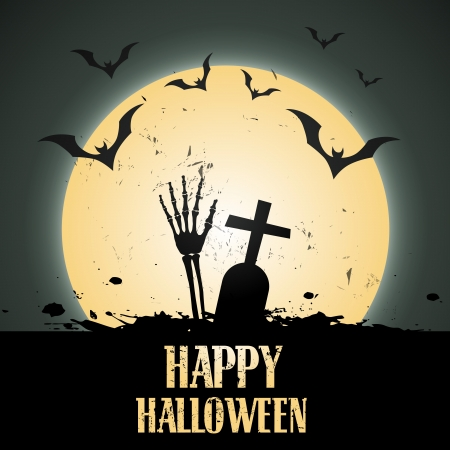 halloween vector design illustration art Vector