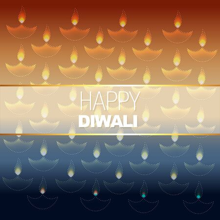 vector sylish diwali background design Vector
