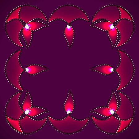 stylish vector diwali background design Stock Vector - 16131342
