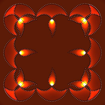 stylish happy diwali vector design illustration Stock Vector - 16131328