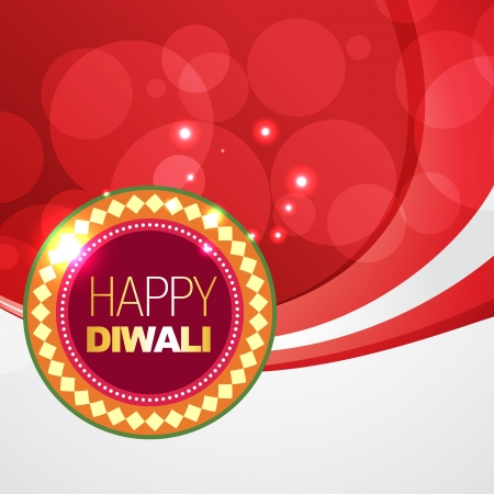 vector beautiful happy diwali background with space for your text Vector