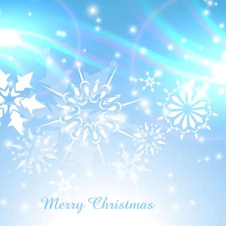 stylish shiny christmas background design